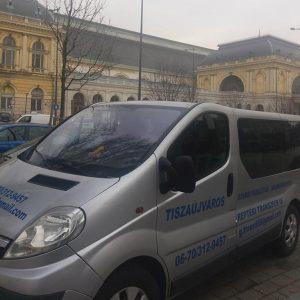 Reptéri transzfer, személyszállítás repülőtérre kisbusszal