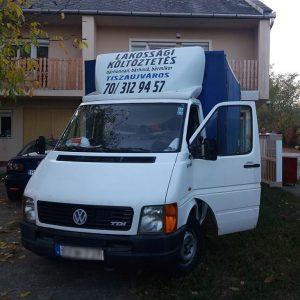 Lakossági költöztetés, Tiszaújváros