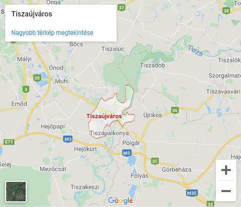 Tiszaújváros transzfer